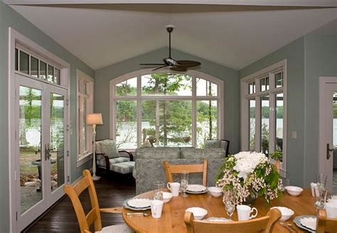 cottage style dining room decorating with a country cottage theme