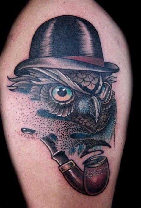 owl tattoo styles modern violent gentlemen