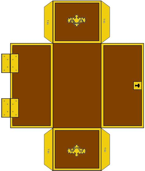 treasure chest template treasure chest template msss crafts