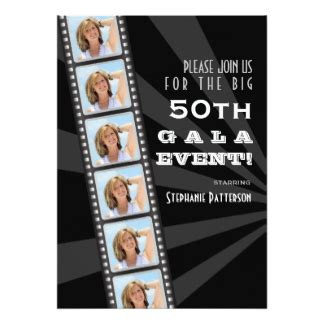 premiere invitation template premiere invitations announcements zazzle