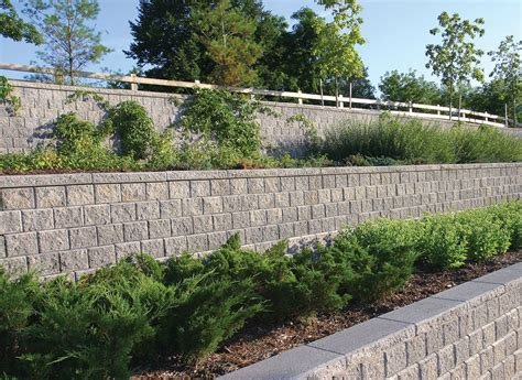Concord Retaining Walls Concord Wall Station Landscape Masonry Supply