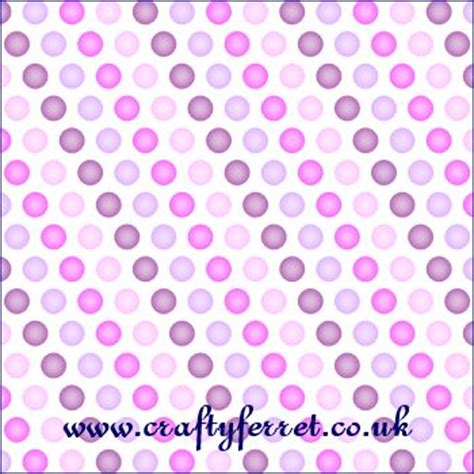 Patterned Craft Paper Uk - free printable blue and pink purple spotty patterned