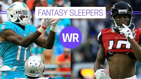 Sleeper Wide Receivers Week 6 by 2017 Football Sleepers Wide Receivers