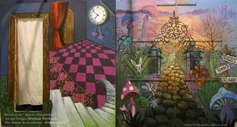 alice in wonderland mural alice in wonderland decor ideas pinter murals