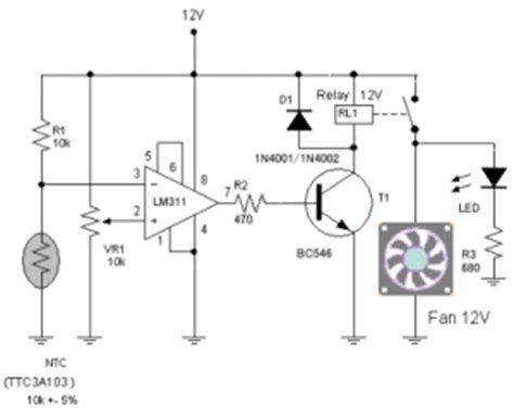 function of transistor in lifier transistors function in the fan speed control circuit diagram world