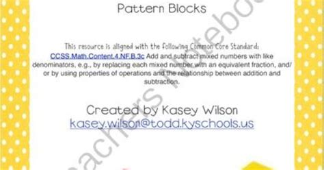 pattern blocks mixed numbers adding subtracting mixed numbers with pattern blocks