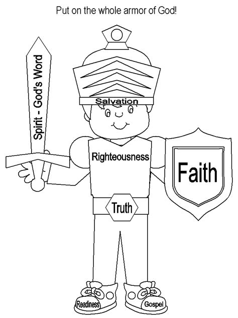 breastplate of righteousness template breastplate of righteousness coloring page coloring pages