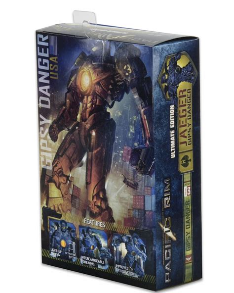 gipsy danger figure 7 pacific 7 quot scale figure ultimate gipsy danger