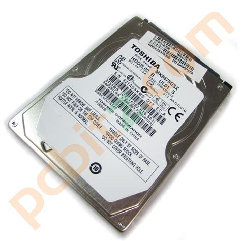 Hardisk Laptop Toshiba 640gb toshiba mk6475gsx 640gb sata 2 5 quot laptop drive ebay