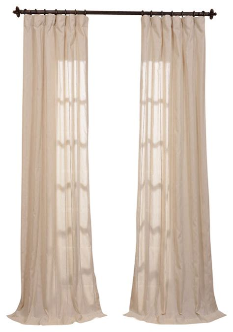 natural linen curtains trinidad natural linen blend stripe curtain traditional