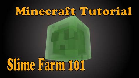slime farm tutorial skyblock slime farm 101 minecraft playstation xbox tutorial