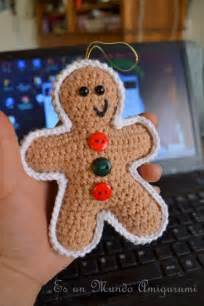 Gingerbread cookie christmas ornaments diy amigurumi pinterest