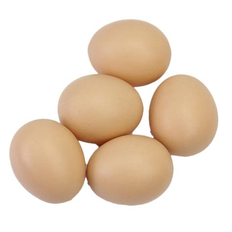 Alat Peternakan 5pcs Chicken Duck Hen In Poultry Water D 5pcs hen poultry simulation artificial faux plastic eggs for chicken duck geese hatch