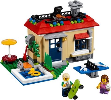 Lego Creator 31067 Modular Poolside Bad Box creator 2017 brickset lego set guide and database