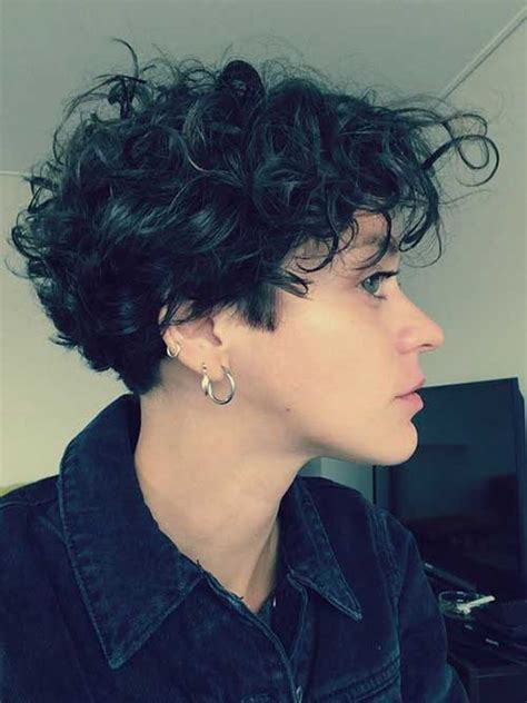 gorgeous short curly hair ideas    short