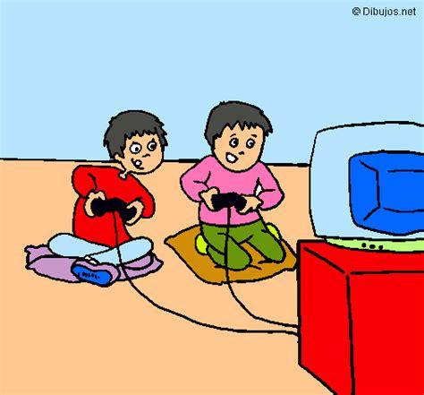 imagenes infantiles de niños jugando dibujo de ni 241 os jugando pintado por aira en dibujos net el