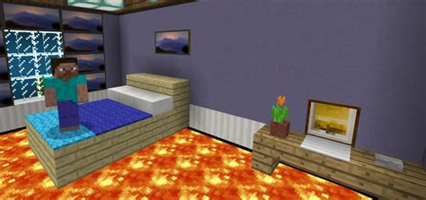 home design lava game the floor is lava parkour minigame minecraft pe maps
