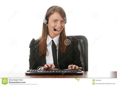 www housebeautiful customer service beautiful customer service operator stock photo image 12561680