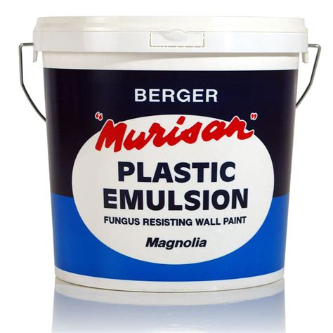 Plastic Emulsion Paint | berger malta