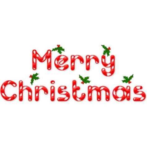 Merry christmas words merry clip art happy - ClipartAndScrap Free Clip Art Christmas Words