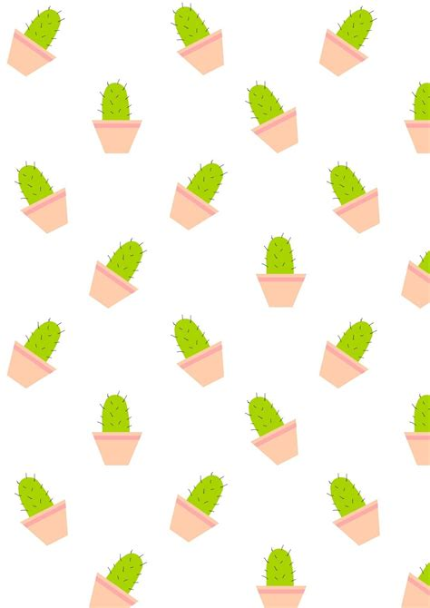 cute pattern paper free printable cactus pattern paper free printables and