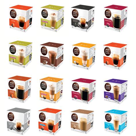 Kapsule Capsule Nescafe Dolce Gusto Cappucinno 1 Box Original nescafe dolce gusto pods 3 boxes of 16 capsules you choose coffee latte ebay