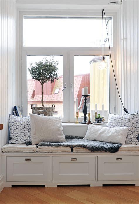 beautiful window seats sekelskifte vitt och vackert moamaria