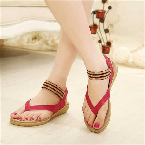 Sandal Sepatu Flat Wanita 8537 sandal teplek wanita cantik model terbaru murah modis