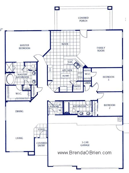 Lennar House Plans Black Ranch Floor Plan Lennar Ranier Model