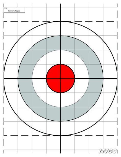 printable 8 inch targets pin printable bullseye target for children custom page on