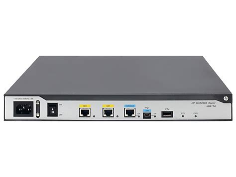 Router Hp Hp Msr2000 Router Series Curvesales