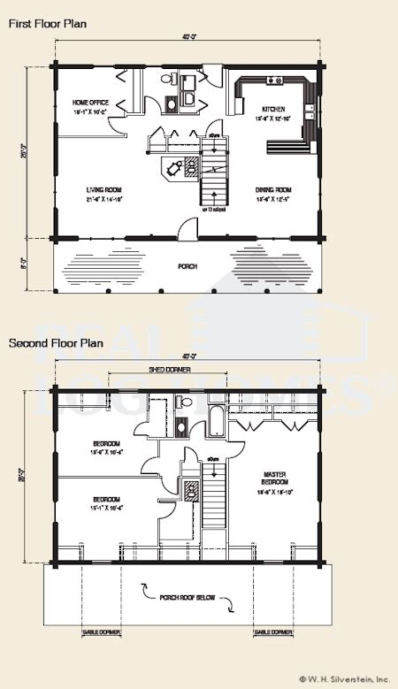 Gambrel Log Home Floor Plans Gambrel Houses Inside And Out Gambrel House Plans