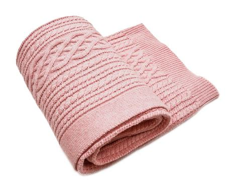 pink knitted blanket pink cable knit throw crochet and knit