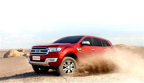 A Brand New Endeavor by Ford Endeavour Enters India At A Price Starting Rs 23 64