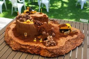 bagger kuchen bagger kuchen baustellen kuchen zum geburtstag nestling