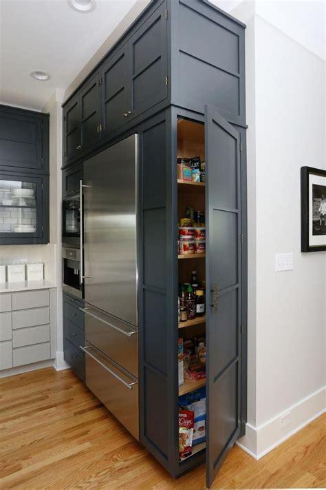 best cabinet refrigerator best 25 refrigerator cabinet ideas on kitchen