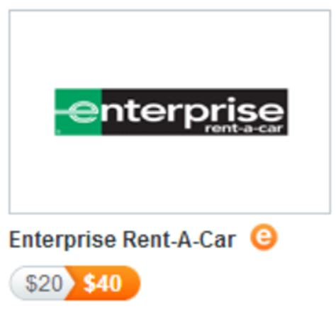 Enterprise Rental Gift Card - discover rental car discounts and upgrades frequent miler