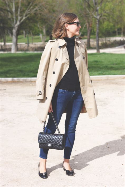 Style Ideas How To Work The Metallic Trench This Second City Style Fashion by Burberry Trench Coat And Salvatore Ferragamo Flats Trini