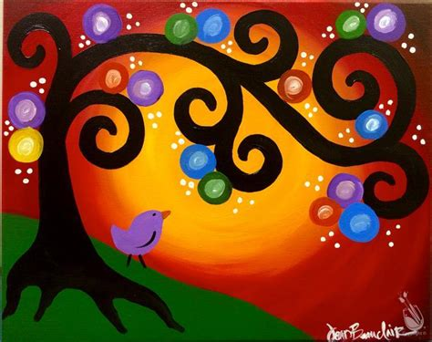 paint with a twist harbison whimsey tree kidz class 7 14 wednesday december