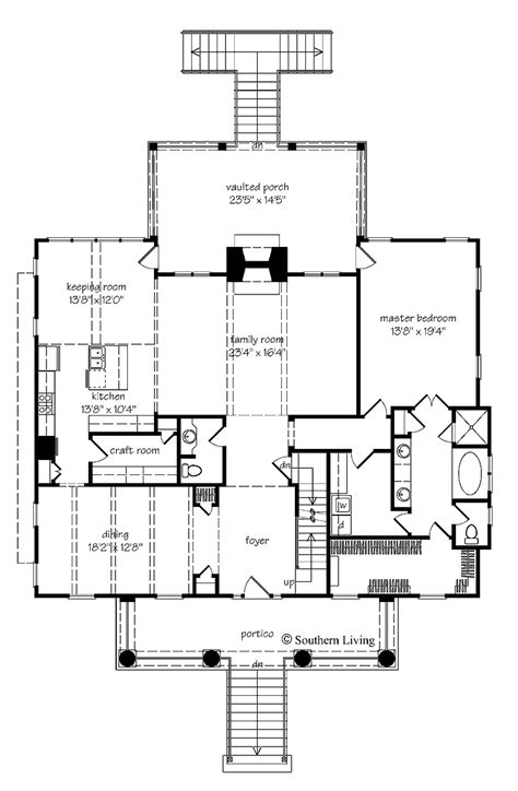 revival house plans revival floor plans revival cottage plans