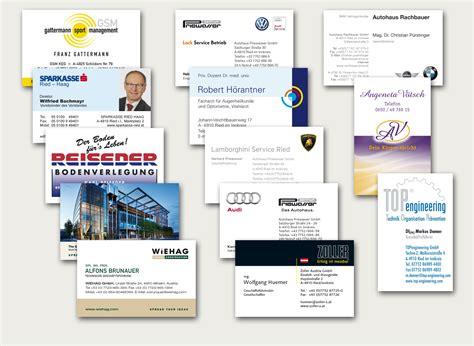 Visitenkarten Dsgvo by Digitaldruck Firmen Digitaldruck Privat