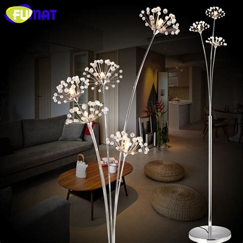 led flower floor l fumat crystal floor l modern crystal floor light for