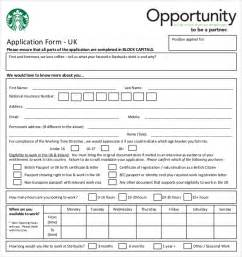 Free Downloadable Employment Application Template by 10 Restaurant Application Templates Free Sle