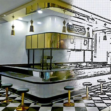 layout of mayfair mall converting sketches to life the mayfair grill restaurant
