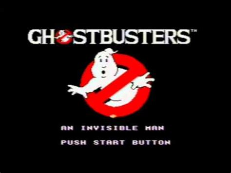 theme song ghostbusters ghostbusters theme song with lyrics sega master system