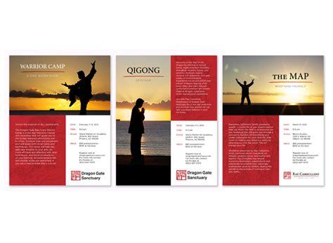 leaflet layout sle tagline communications graphic design print