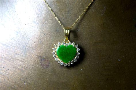 imperial jade pendant vintage jewelry