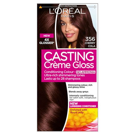 Cherry Cola Permanent Hair Dye | l oreal casting creme gloss 356 cherry cola dark brown