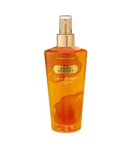compare victorias secret perfume prices buy online in victoria secret amber romance fragrance body mist 250ml
