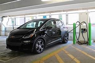 Electric Car Fast Charger Fast Charging A 2017 Chevrolet Bolt Ev Electric Car